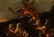 Detail images: Philipp Peter Roos, Rosa da Tivoli, 1657 Frankfurt - 1706 Rom