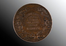 Detail images: Bronzemedaille