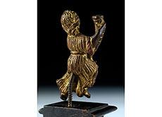 Detail images: Kleines, vergoldetes Bronze-Figürchen