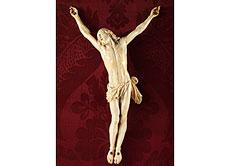Detailabbildung: Corpus Christi in Elfenbein