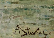 Detail images: Alfred Stevens, 1823 Brüssel - 1906 Paris