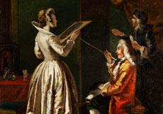 Detail images: Francesco Salvator Fontebasso, 1709 - 1769 Venedig, zug.