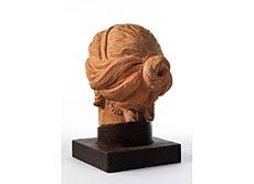 Detail images: Weiblicher Kopf in Terracotta
