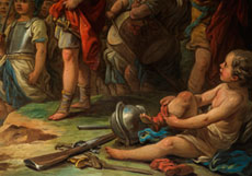 Detail images: Carle van Loo, 1705 - 1765, Schüler von Boucher