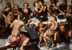 Detail images: Antwerpener Maler des 17. Jahrhunderts unter Einfluss von Frans Floris, 1516 - 1570
