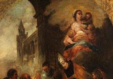 Detail images: Bartolomé Esteban Murillo, 1618 Sevilla - 1682, zug.