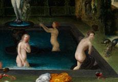 Detail images: Flämischer Maler des 17. Jahrhunderts, wohl unter Einfluss von Jan Brueghel d. J. und Pieter van Avont