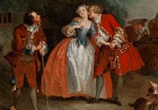 Detailabbildung: Maler des 18. Jahrhunderts in der Stilnachfolge von Watteau