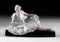 Detail images: Porzellanfigur
