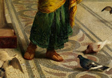 Detailabbildung: Guglielmo Zocchi, 1874 Florenz