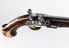 Detail images: Steinschlosspistole