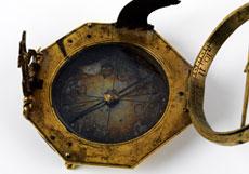 Detail images: Achteckige Äquatorialuhr