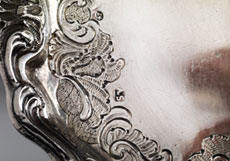Detail images: Paar Rokoko-Schälchen mit Pinsel