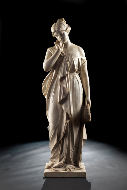 A. Bellucci, italienischer Bildhauer des 19. Jahrhunderts
