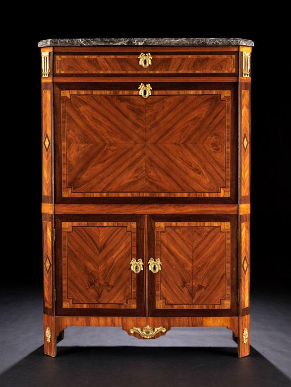 franz sischer louis xvi sekret r secr taire abattant hampel fine art auctions. Black Bedroom Furniture Sets. Home Design Ideas