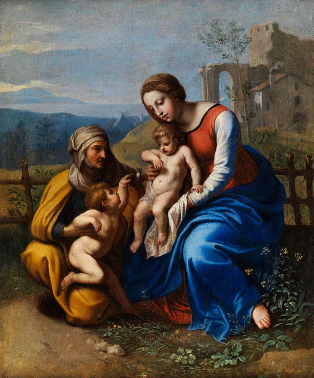 Giovanni Francesco Penni, 1496 Florenz - um 1536 Neapel, zug.