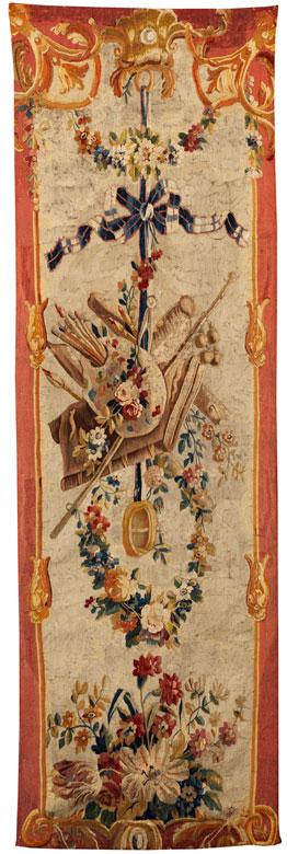 Französischer Aubusson-Wandteppich