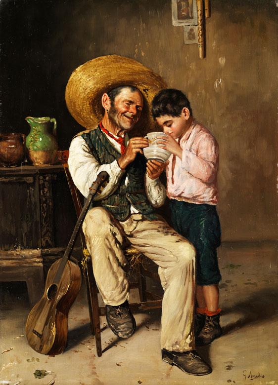 Guilio Amodio, geb. 1868 Italien