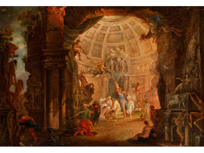 Italienisch/ französische Schule des 18. Jahrhunderts