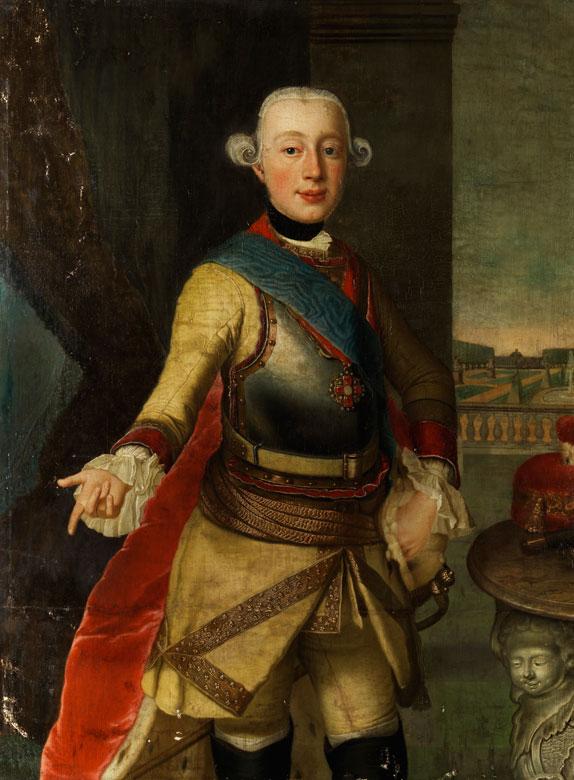 Hofportraitist des 18. Jahrhunderts