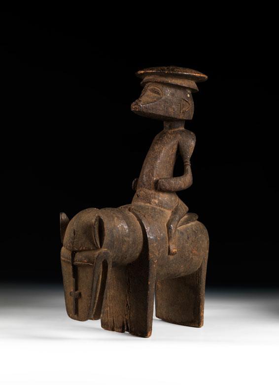 Senufo-Reiterfigur