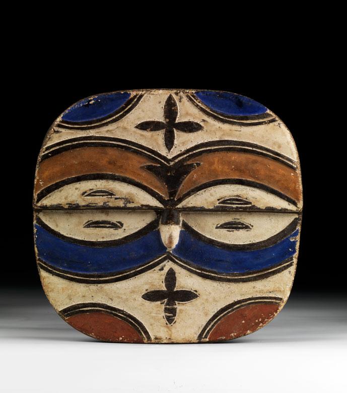 Afrikanischer Maskenschild