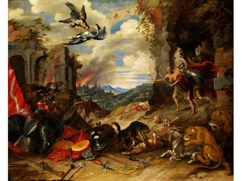 Jan Brueghel der Jüngere, 1601 Antwerpen - 1678 Antwerpen