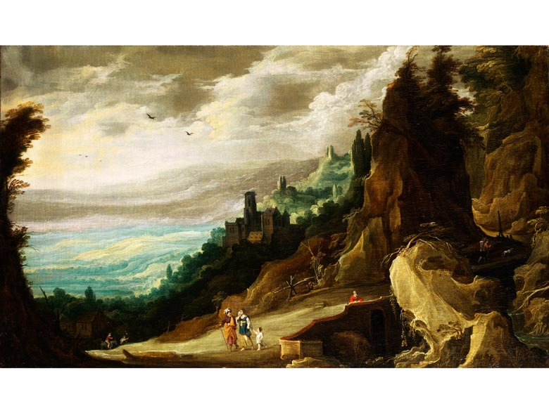 Joos de Momper, der Jüngere, 1564 - 1635 und Hans Jordaens III. um 1595 - 1643