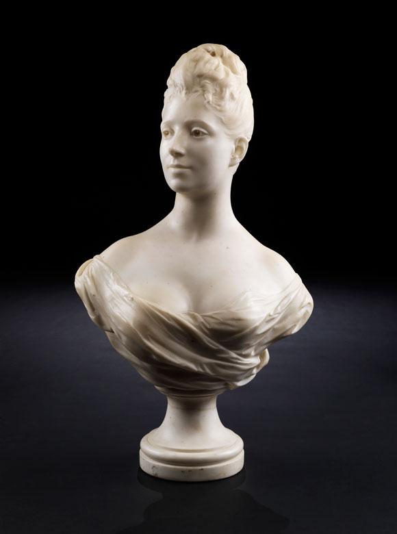 J. Francesci, italienischer Bildhauer des 19. Jahrhunderts