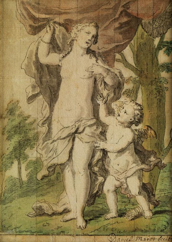 Daniel Marot, Maler und Zeichner des 18. Jahrhunderts