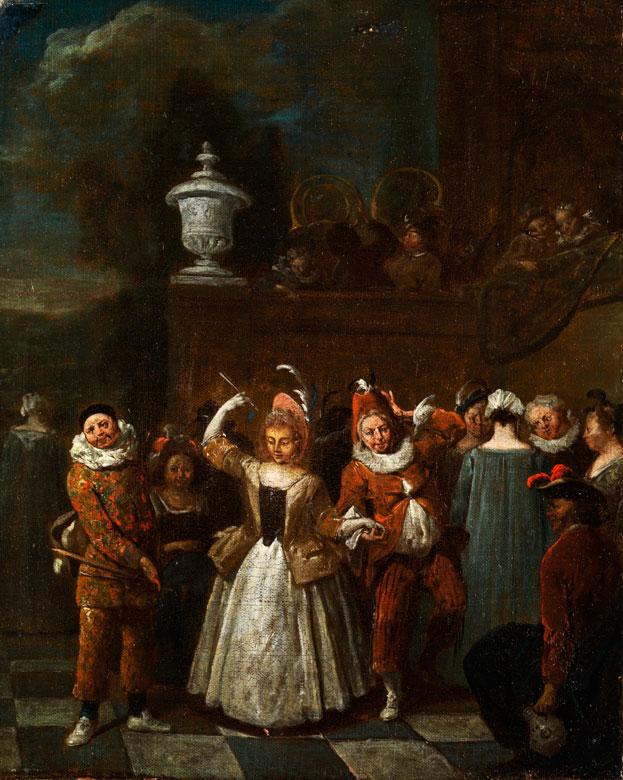 Jan Baptist Lambrechts, 1680 - 1731 Antwerpen, zug.