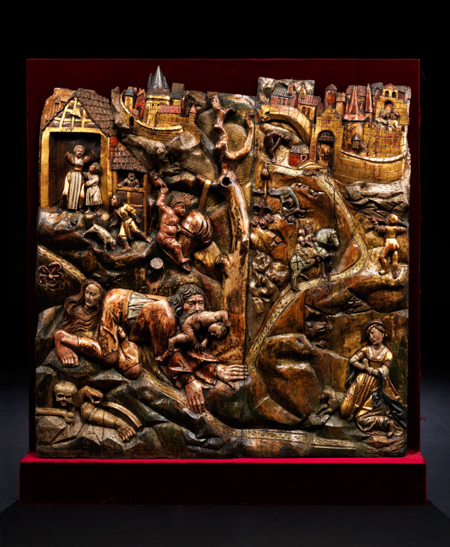 Fränkischer Bildschnitzer des 16. Jahrhunderts