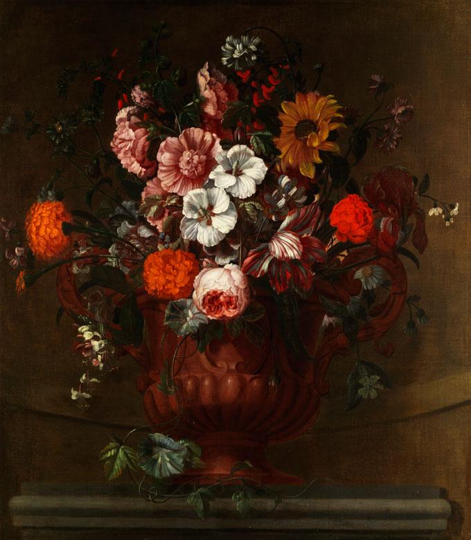 Simon Hardime, 1664 Antwerpen - 1737 London, Schüler von Nicolas Crépu, zug.