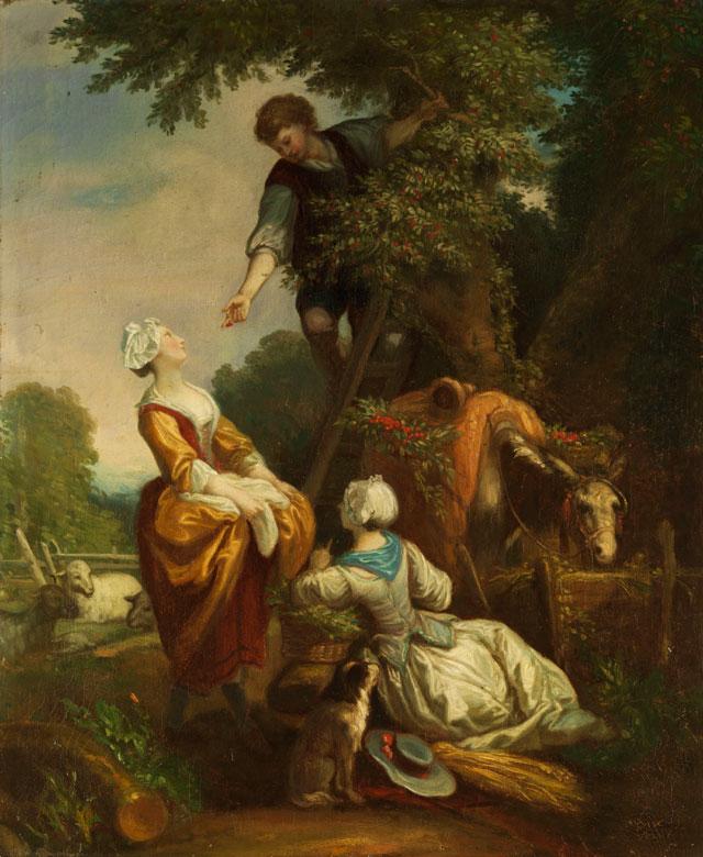 Französischer Maler des 19. Jahrhunderts - Hampel