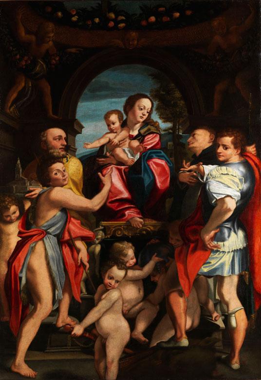Oberitalienischer Maler in der Nachfolge von Coreggio