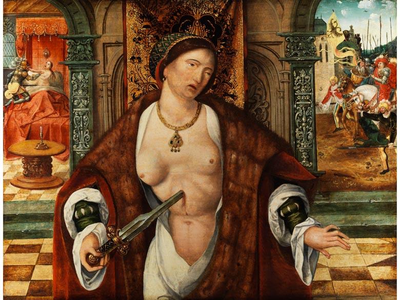 Deutscher Maler des 16. Jahrhunderts, mit Wappenmonogramm (gekreuzte Schwerter)