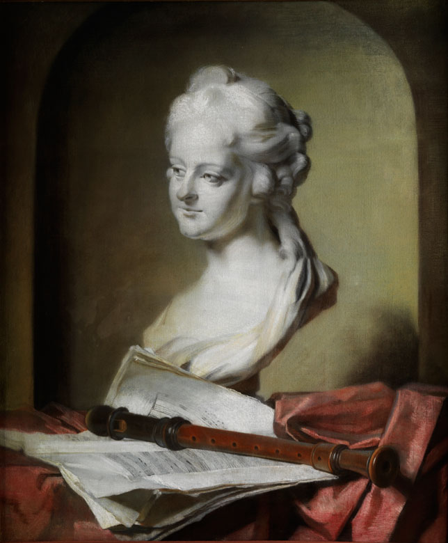 Anne Vallayer-Coster, 1744 Paris - 1818, zug. Werkstatt,