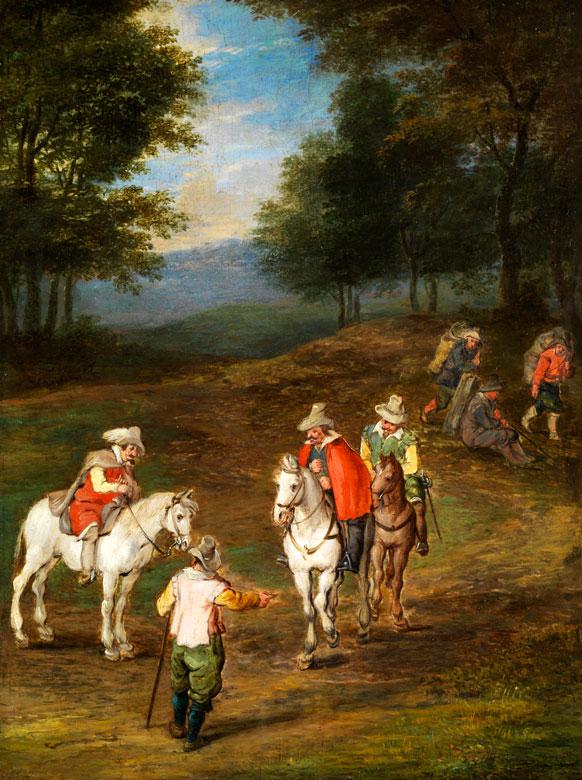 Jan Brueghel, Maler des 19. Jahrhunderts, in der Art von,