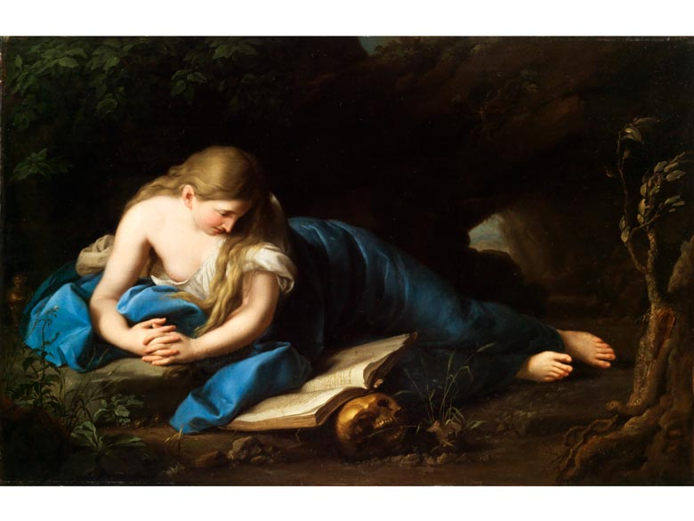 Kopist des 18./ 19. Jahrhunderts, möglicherweise Anton Graff, 1736 - 1813, nach Pompeo Batoni, 1708 - 1787