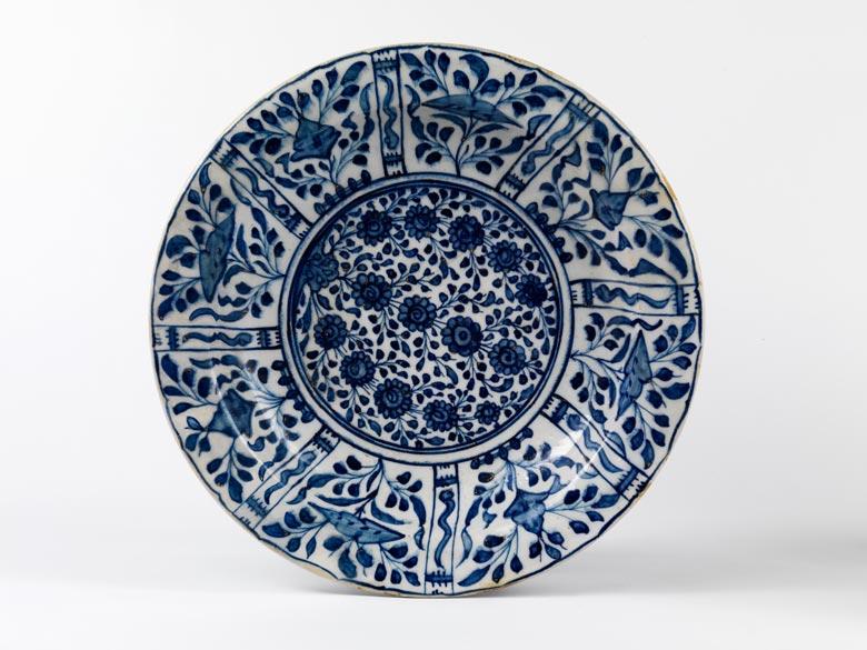 Persische Porzellanplatte