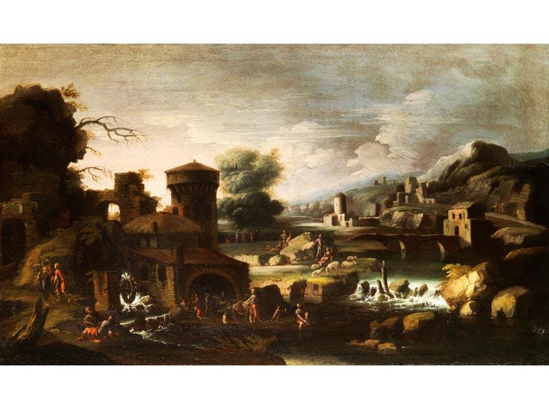 Italienischer Maler der Genueser Schule des 17. Jahrhunderts