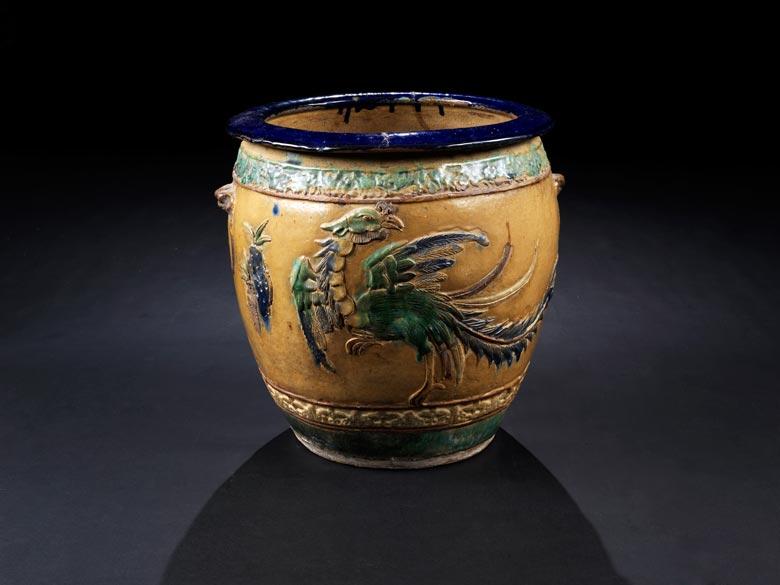 Große Keramikvase