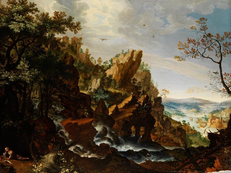 Roelant Savery, 1576 - 1639, zug.