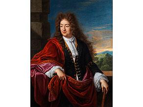 Detail images:  Godfrey Kneller, 1646 Lübeck - 1723 London, zug.
