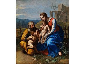 Detail images:  Giovanni Francesco Penni, 1496 Florenz - um 1536 Neapel, zug.