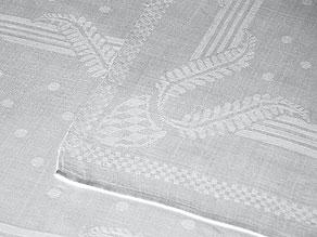 Detail images:  Klassizistisches Tafeltuch aus dem ehemaligen Besitz des Hauses Wittelsbach