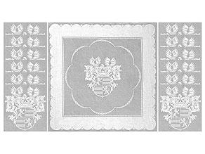 Detail images:  Prachtvolle Tafelgarnitur mit den Wappen der Familie der Grafen v. Walderdorff