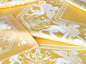 Detail images:  Tafelgarnitur mit venezianischen Löwen