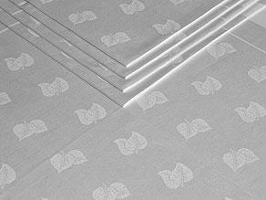 Detail images:  Zwölf große Mundtücher mit Blattmuster