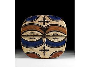Detail images:  Afrikanischer Maskenschild